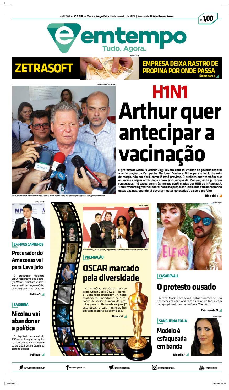 d2fc018bca Em Tempo - 26 de Fevereiro de 2019 by Amazonas Em Tempo - issuu