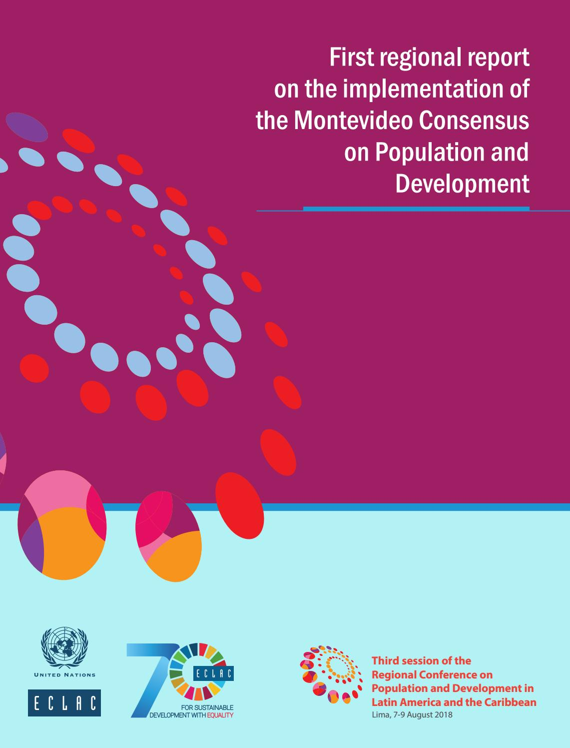 First regional report on the implementation of the Montevideo ...