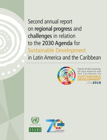 Second annual report on regional progress and challenges in