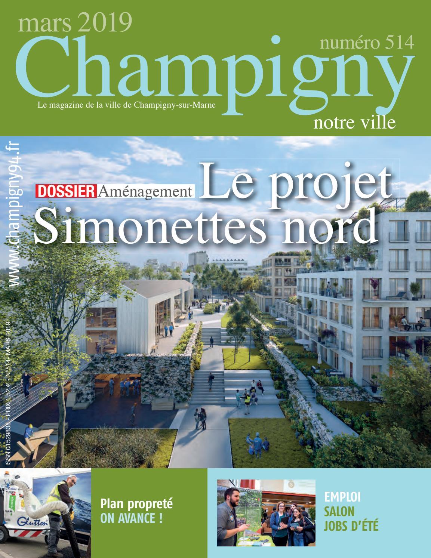 champigny notre ville n�514 - mars 2019n r - issuu