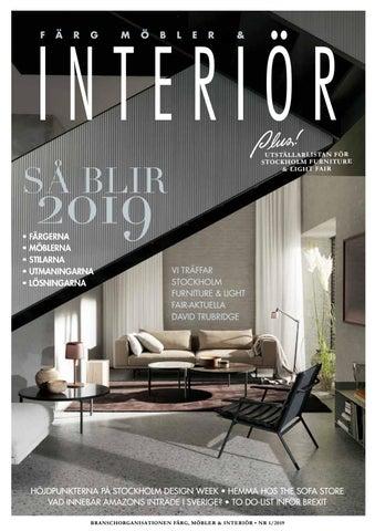 11b7072163d Färg Möbler & Interiör 2019 01 by D Z I G N - issuu