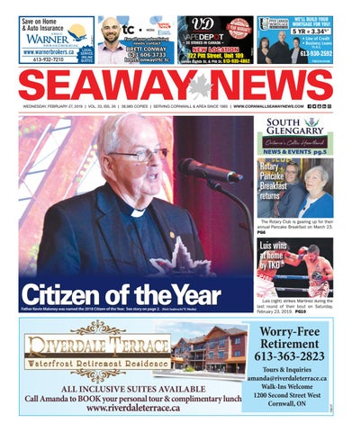 Cornwall Seaway News February 27 2019 Edition