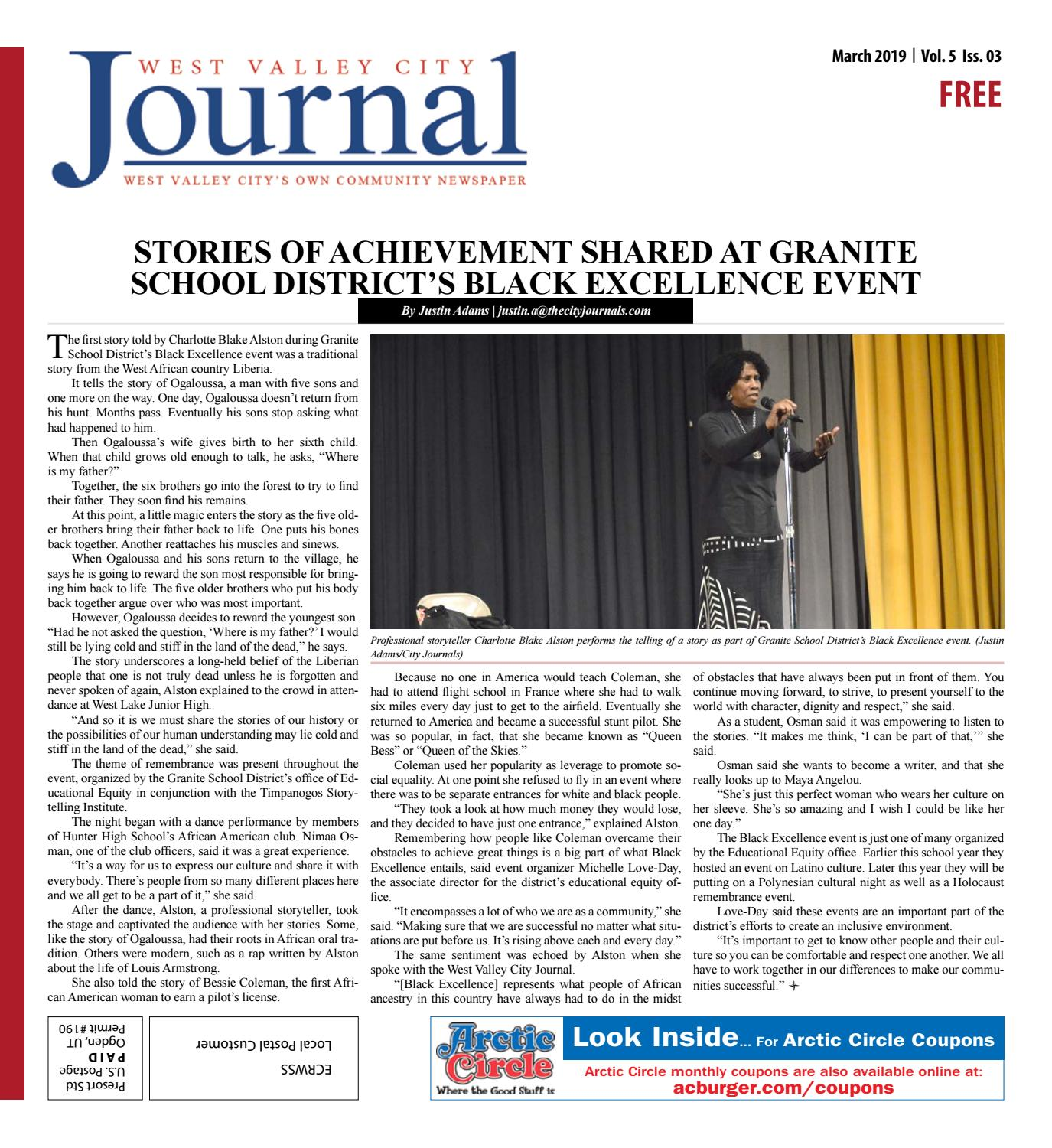 West Valley City Journal March 2019 by The City Journals - issuu