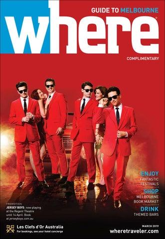 f65d76bd20b1 Where Magazine Melbourne Mar 2019 by Morris Media Network - issuu