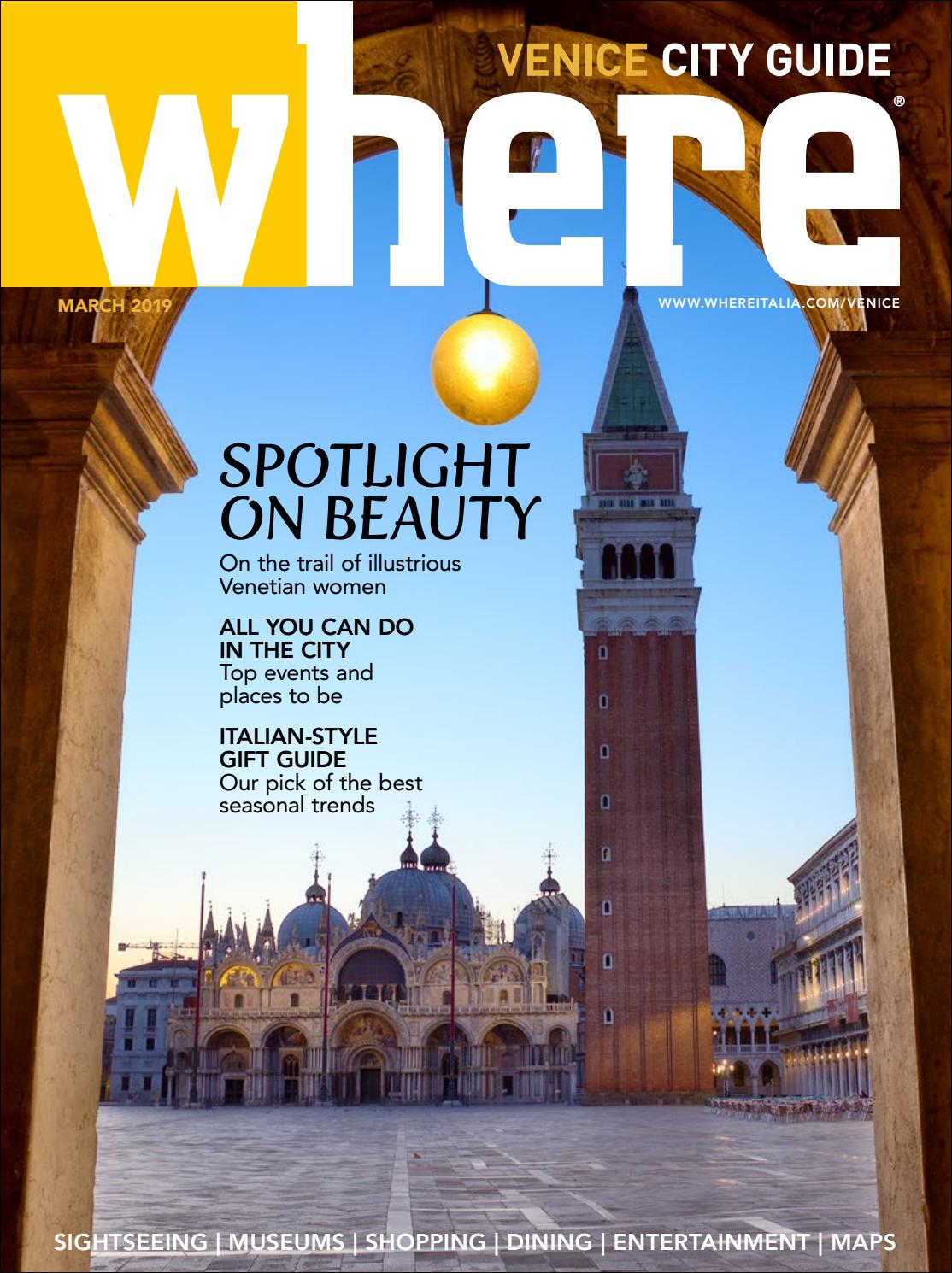 Where Magazine Venice Mar 2019 By Morris Media Network Issuu