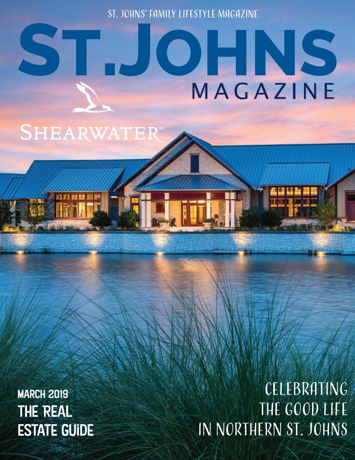 St  Johns Magazine March 2019 by St  Johns Magazine - issuu