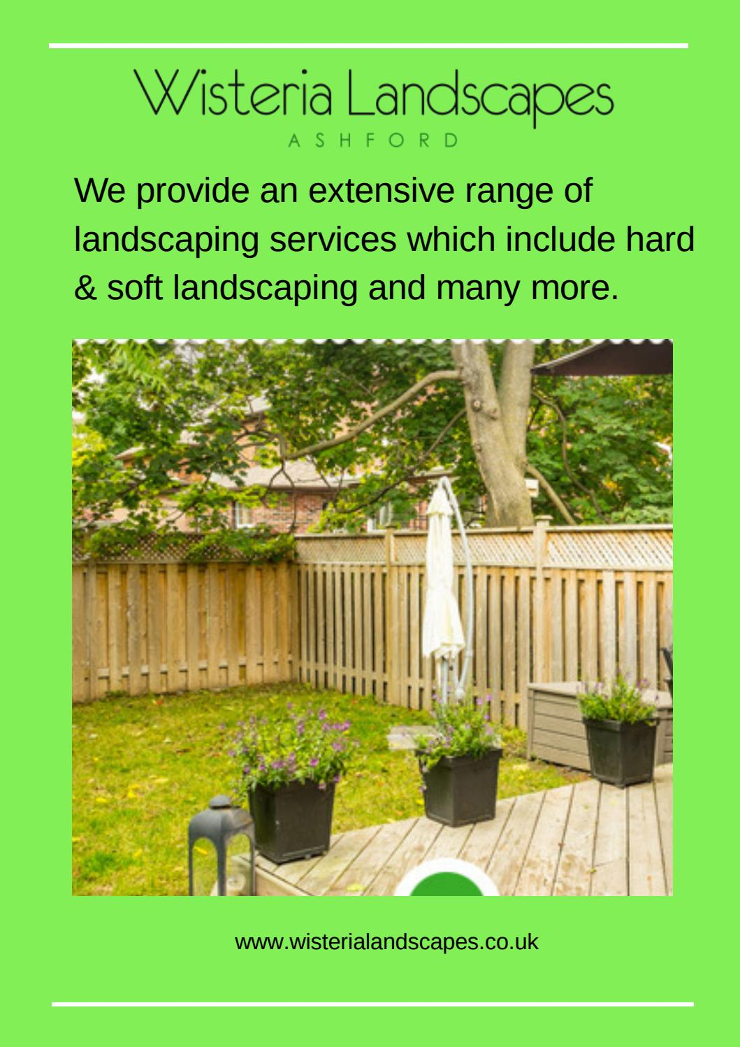 Landscaping Construction Training Courses Wisteria Landscapes By Wisteria Landscapes Issuu