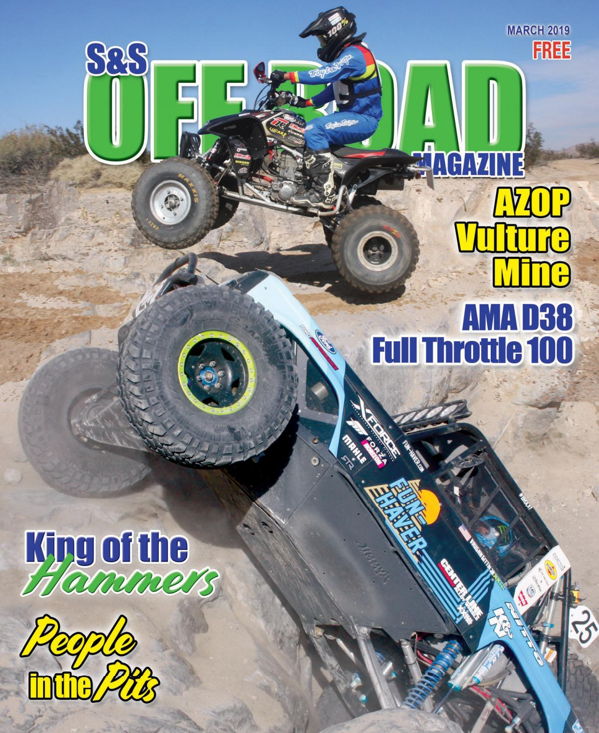 S&S Off Road Magazine March 2019 by S&S Off Road Magazine
