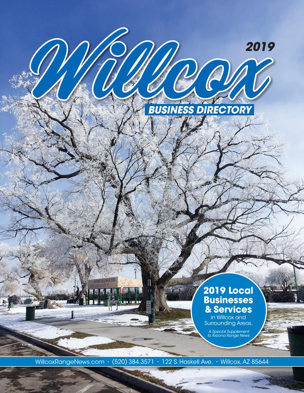 2019 Willcox Directory by Wick Communications - issuu