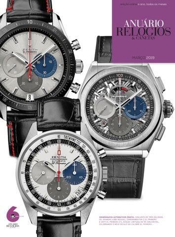 0f923ed02c7 Anuário Relógios   Canetas - Março 2019 by Anuário Relógios ...