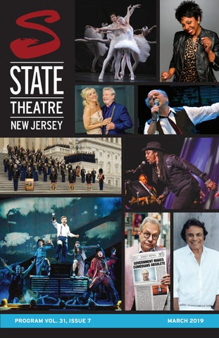 State Theatre New Jersey Program Vol  31, Issue 7 by State
