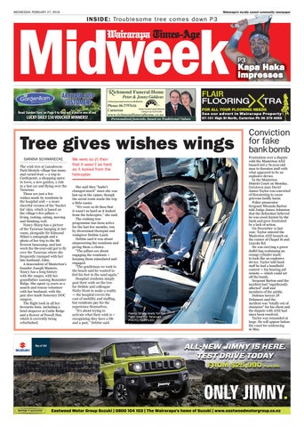 2e824aa2a15129 Wairarapa Midweek Wed 27th Feb by Wairarapa Times-Age - issuu