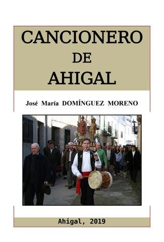By José Por Biblioteca De Domínguez Cancionero Ahigal María Moreno UVSzMqp