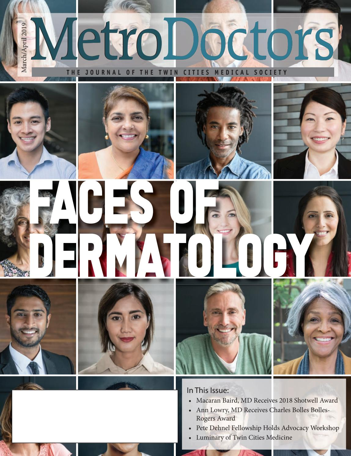 769d47a2c4f March April 2019 - Faces of Dermatology by Twin Cities Medical Society -  issuu