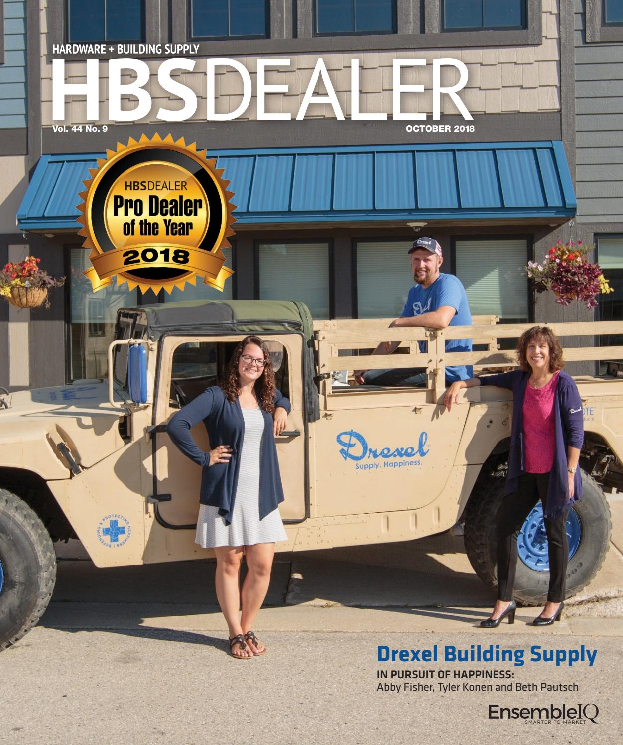 Hardware & Building Supply Dealer - October 2018 by