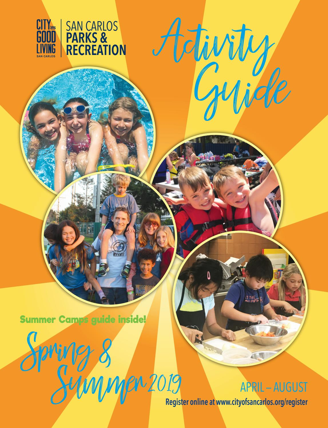 San Carlos Spring & Summer Activity Guide 2019 by San Carlos