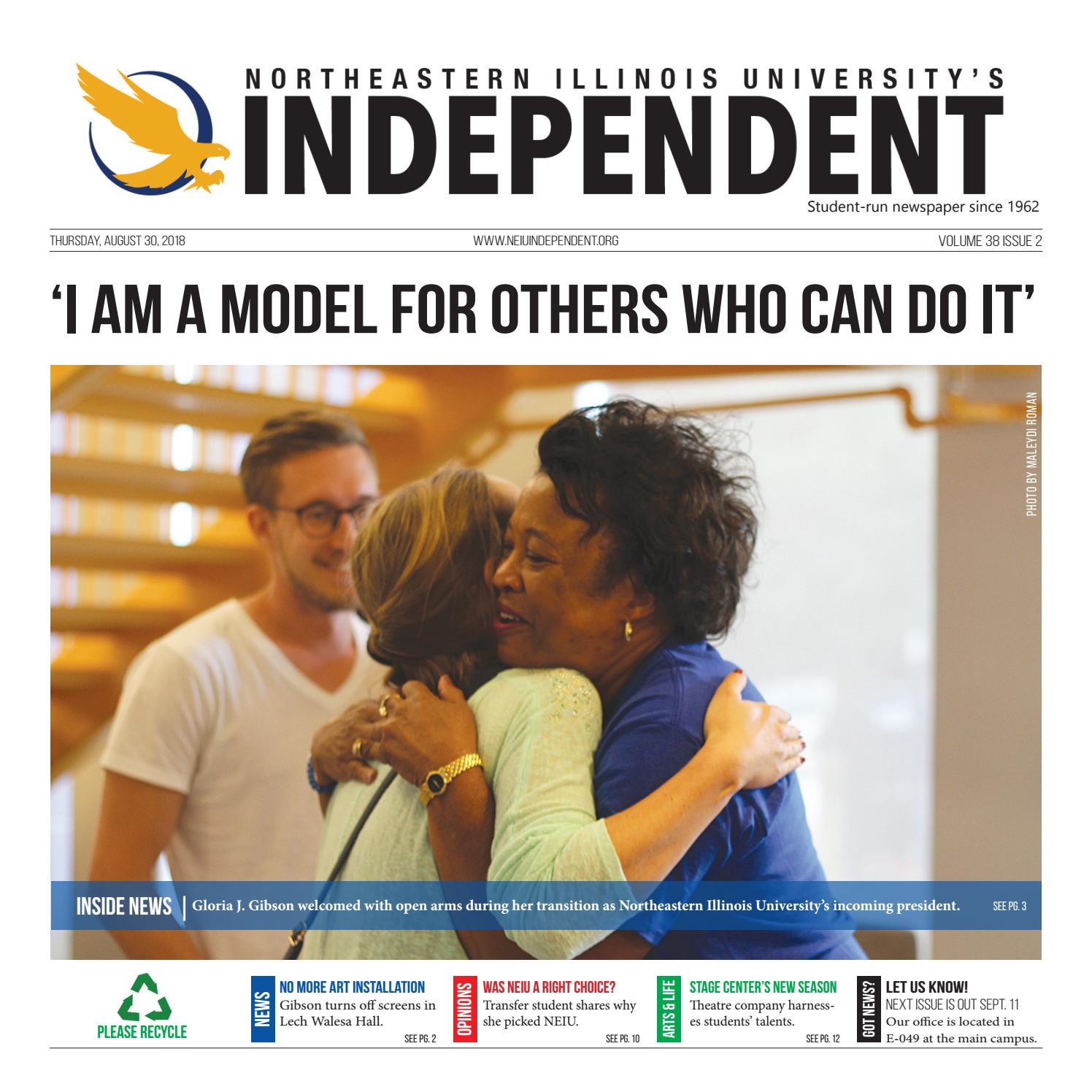 NEIU Independent August 28 Issue by Independent Newspaper