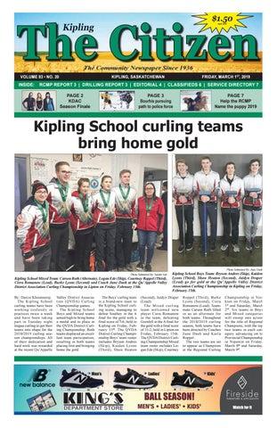 Kipling Citizen, March 1 by Kipling Citizen - issuu