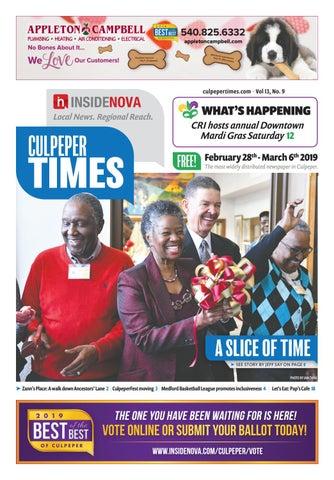 Culpeper Times - Feb  28 - March 6 by InsideNoVa - issuu