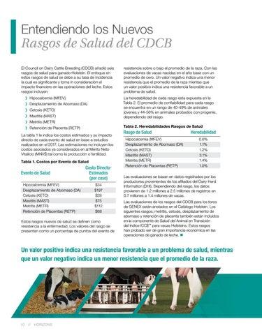 Page 10 of Entendiendo los Nuevos Rasgos de Salud del CDCB