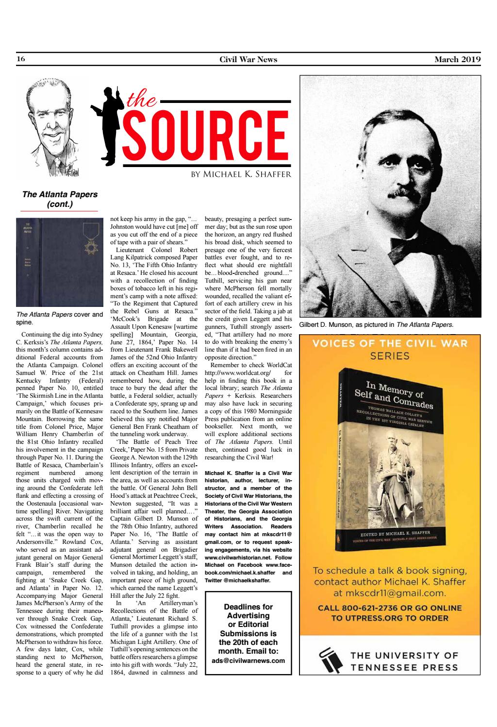 'The Source' March 2019