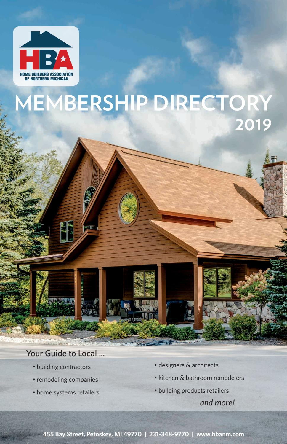 Home Builders Ociation Of Northern Michigan 2019