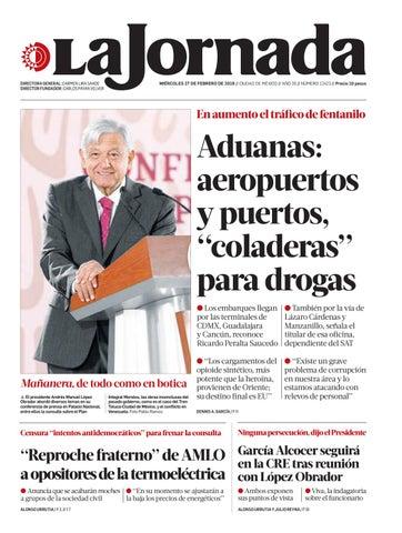 La Jornada 02272019 By La Jornada Issuu