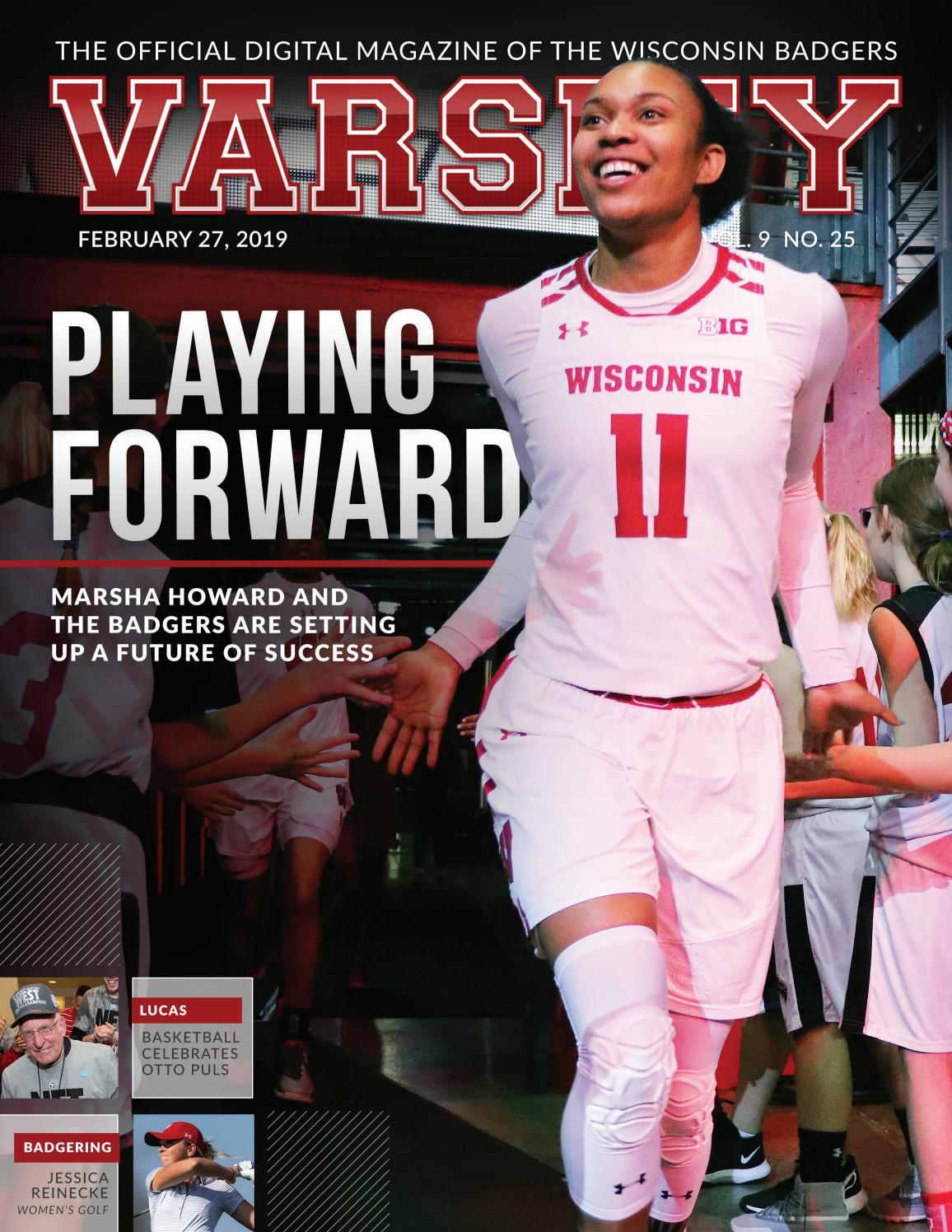 16225ba1 Varsity Magazine - February 27, 2019 by Wisconsin Badgers - issuu
