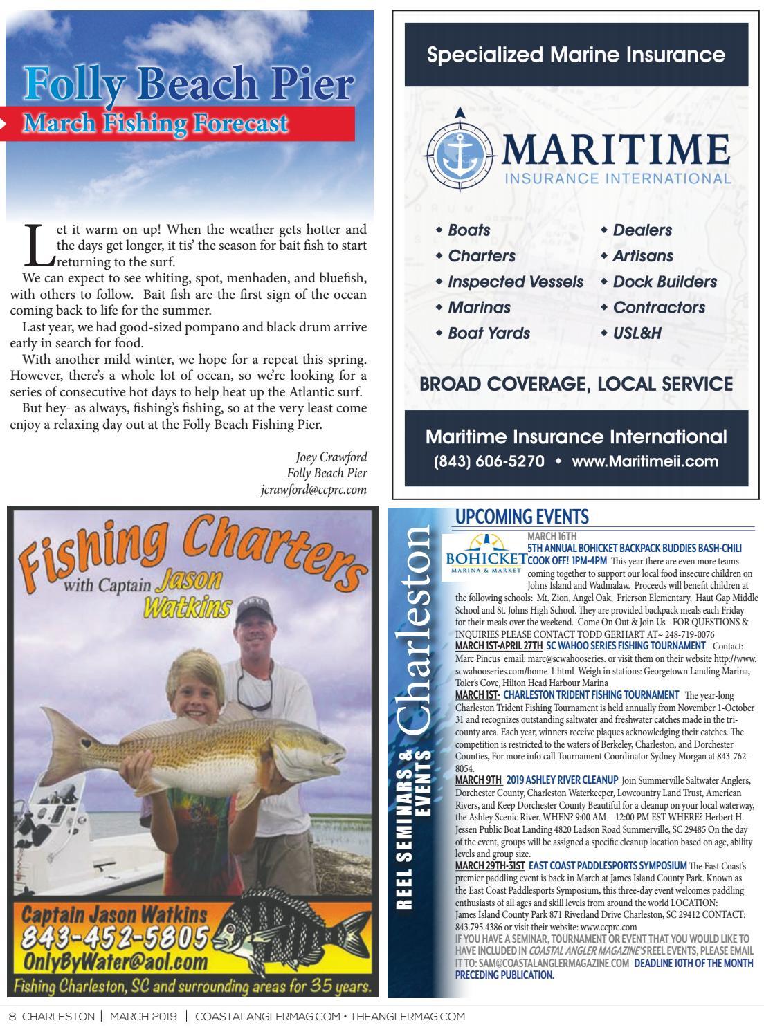 Coastal Angler Magazine | March 2019 | Charleston