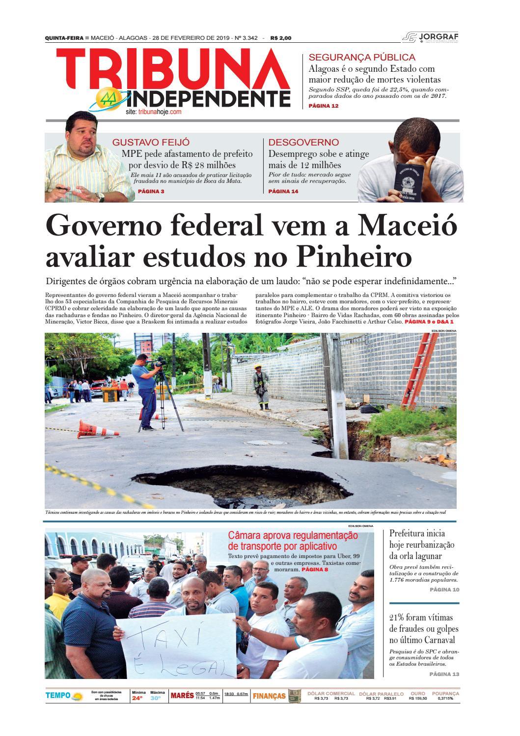 5b2115f2e4b2e Edição número 3342 - 28 de fevereiro de 2019 by Tribuna Hoje - issuu