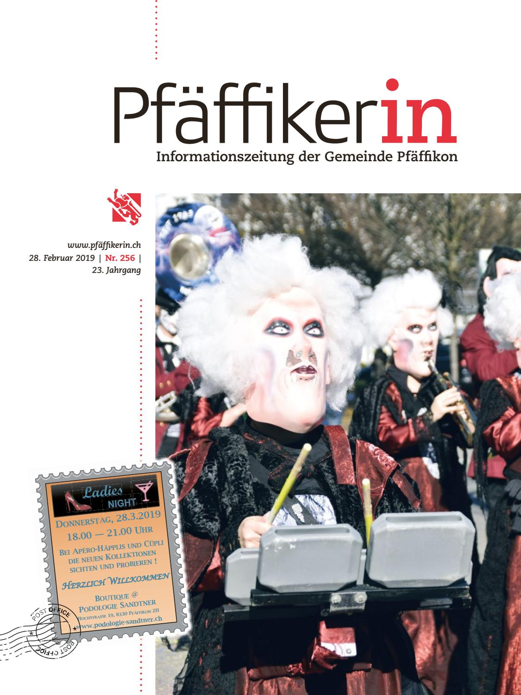 Pfaffikerin Februar 2019 By Schellenberg Druck AG