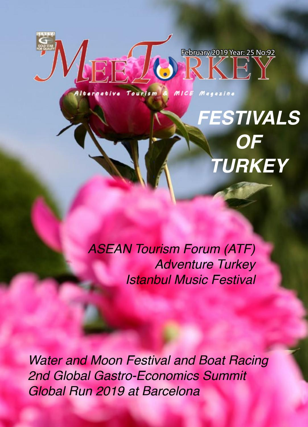 MeeTurkey Alternative Tourism & MICE Magazine - February