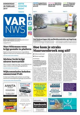 a673ee70830a56 VARnws Stichtse Vecht 28 februari 2019 by VARnws - issuu