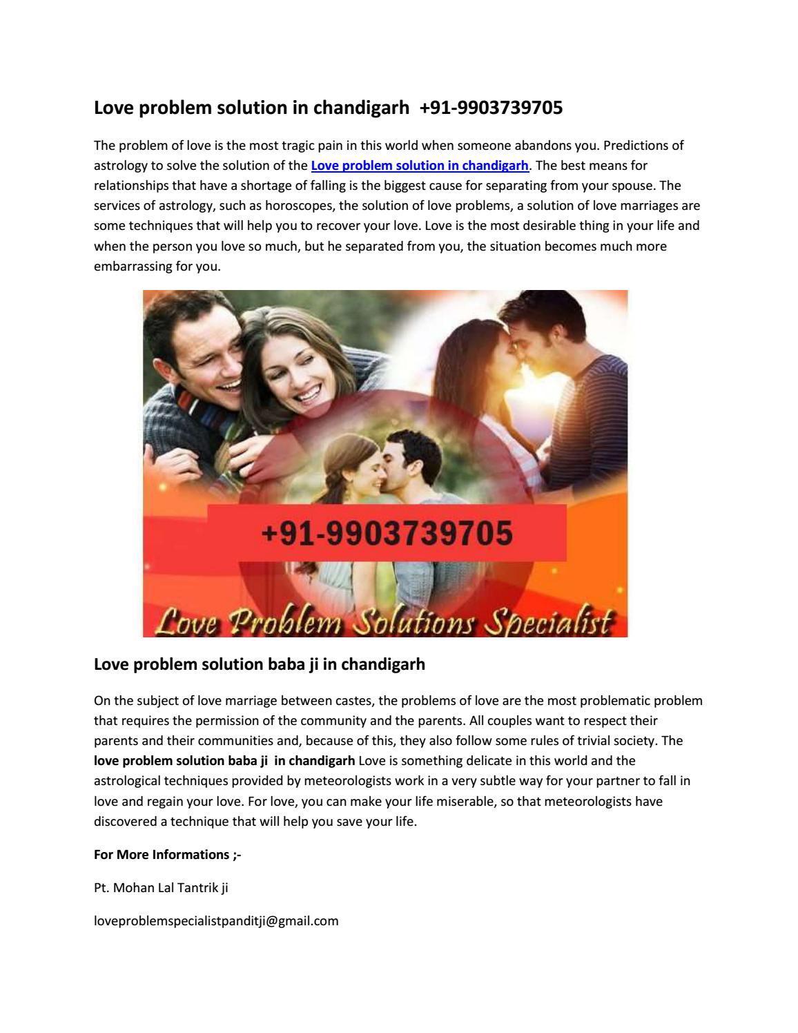 Love Problem Specialist Pandit ji | Love Guru | +91-9903739705