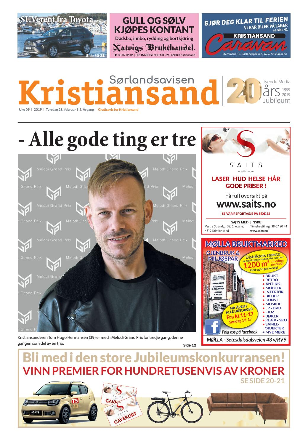 3ecdad54 Sørlandsavisen Kristiansand - Uke 9 by Tvende Media AS - issuu