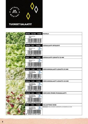 Page 2 of Tuoreet salaatit