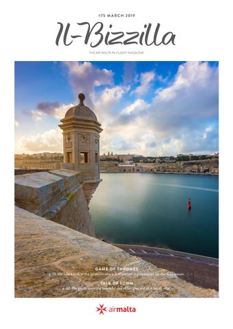 "1beaabc494 Il-Bizzilla"" - Air Malta s In-Flight Magazine - February 2019 by Air ..."