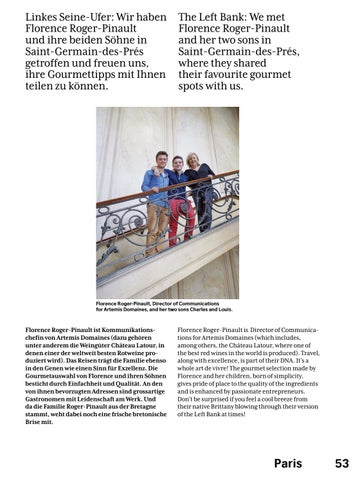 Page 55 of Paris - SWISS Magazine March 2019