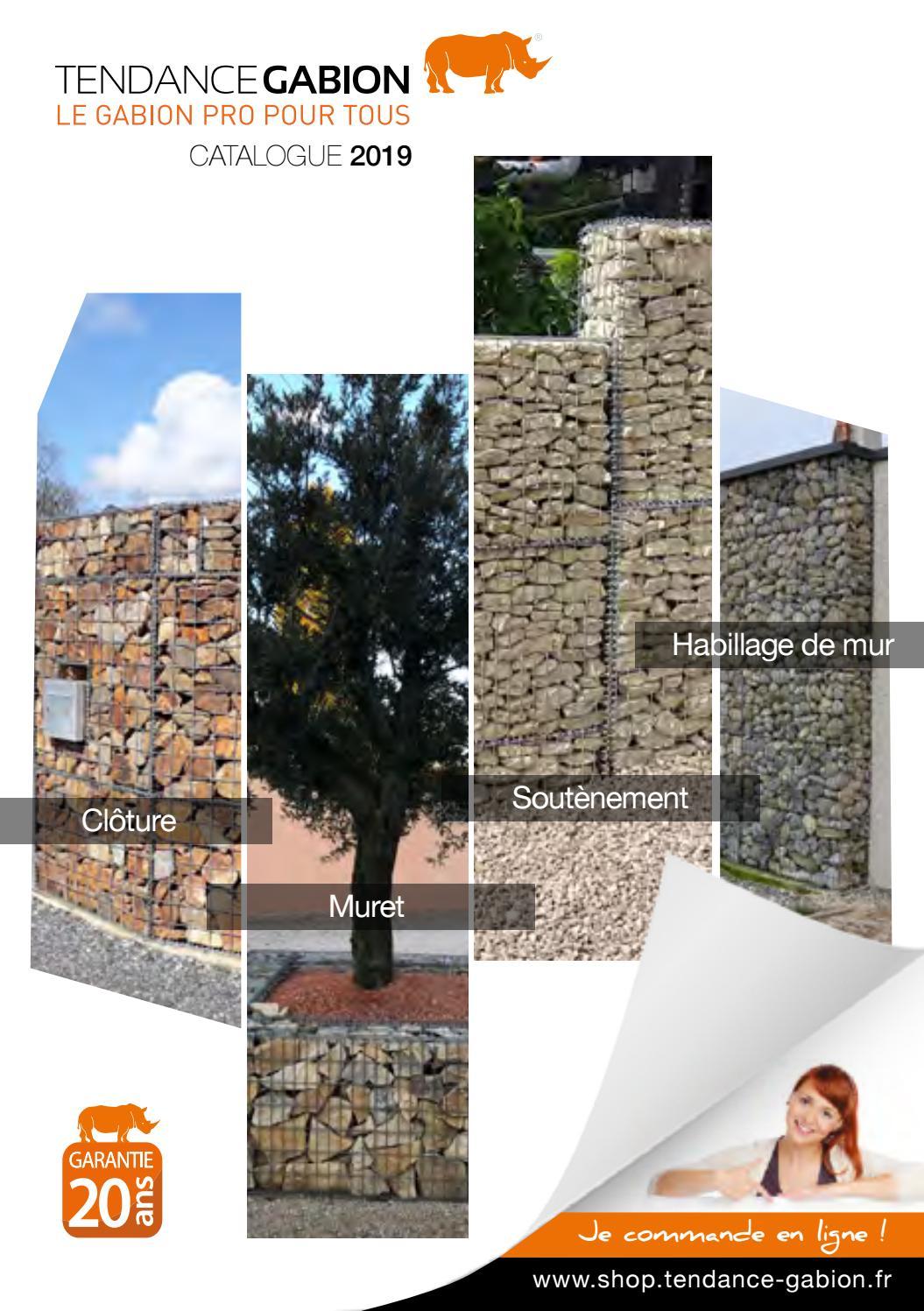 Habillage D Un Mur De Cloture catalogue tendance gabion 2019tendance gabion - issuu