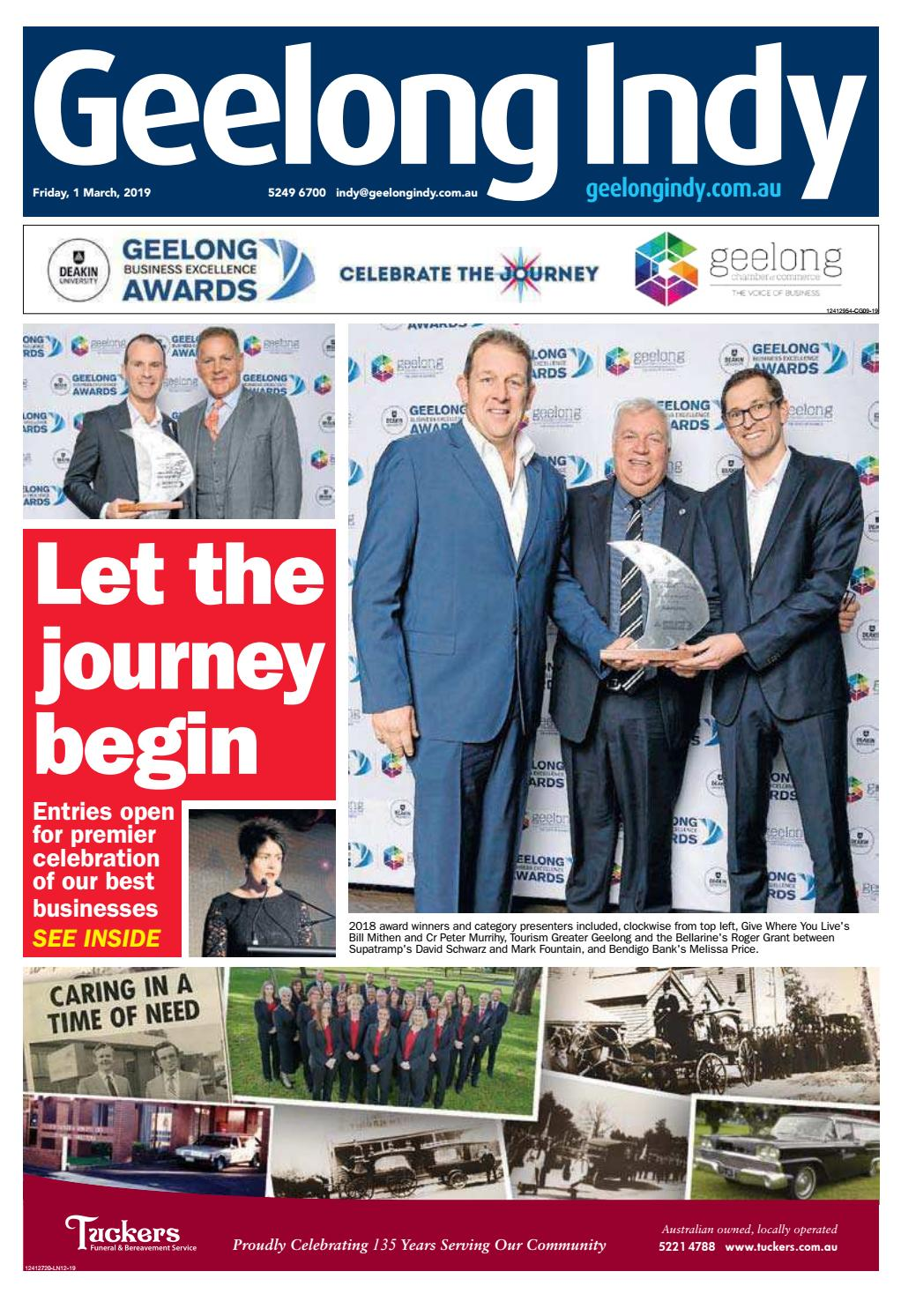 Geelong Indy - 01st March 2019 by Star News Group - issuu
