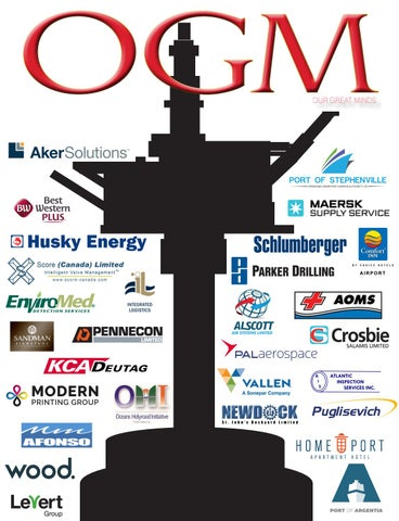 Page 1 of THE OGM - Everything that's great about ENERGY + CULTURE offshore Newfoundland!