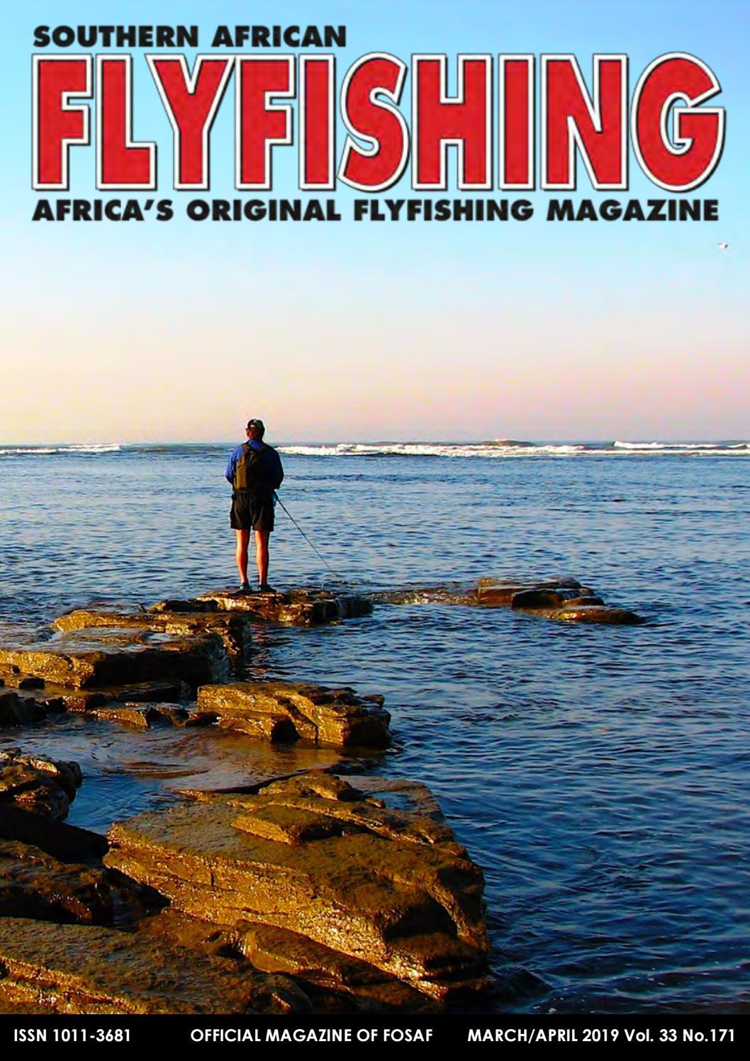 Southern African Flyfishing Magazine March 2019 by saflyfishingmag