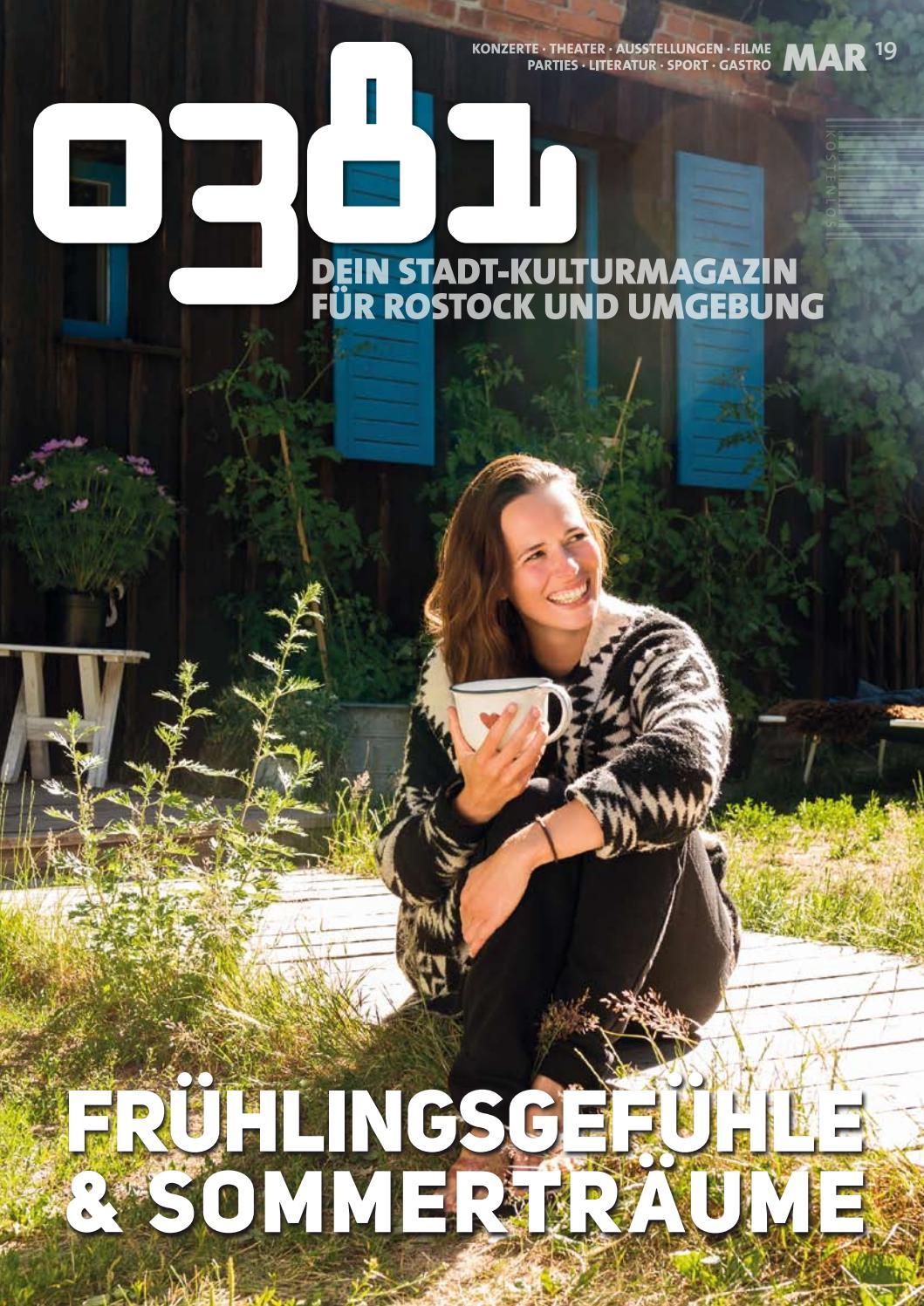 0381 – Dein StadtKulturMagazin für Rostock und Umgebung März