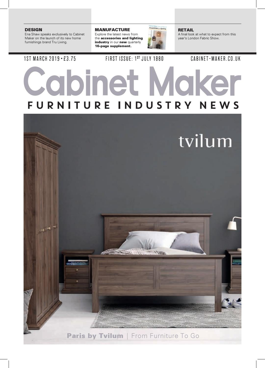 Cabinet Maker 1st March 2019 By Issuu