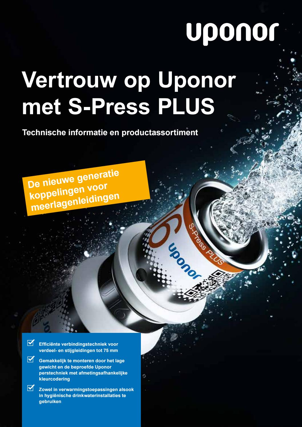 Uponor ti s press plus nl 1094401 201902 by uponornl - issuu