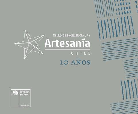 d67a177d4394 Catálogo Sello de Excelencia a la Artesanía 2018 by Ministerio de las  Culturas
