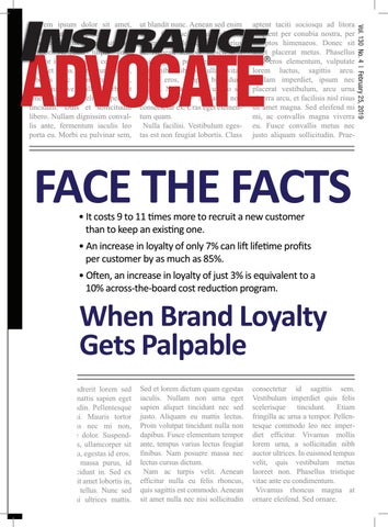 February 25 Insurance Advocate by C Acunto - issuu