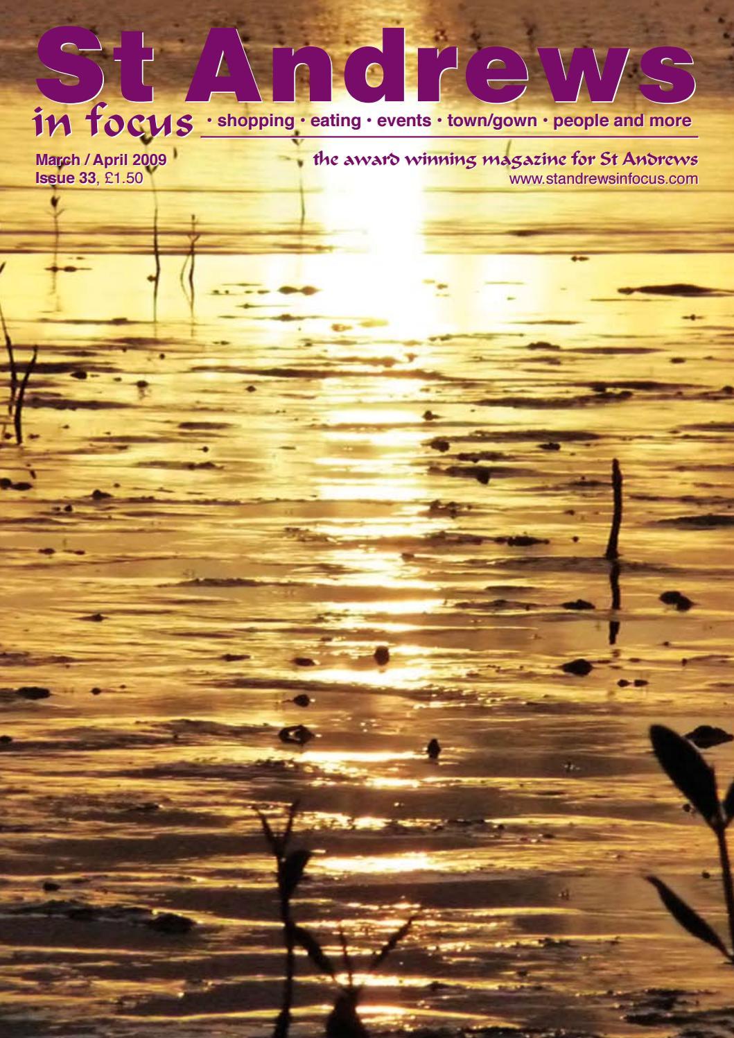 St Andrews in Focus Issue 33 Mar Apr 2009