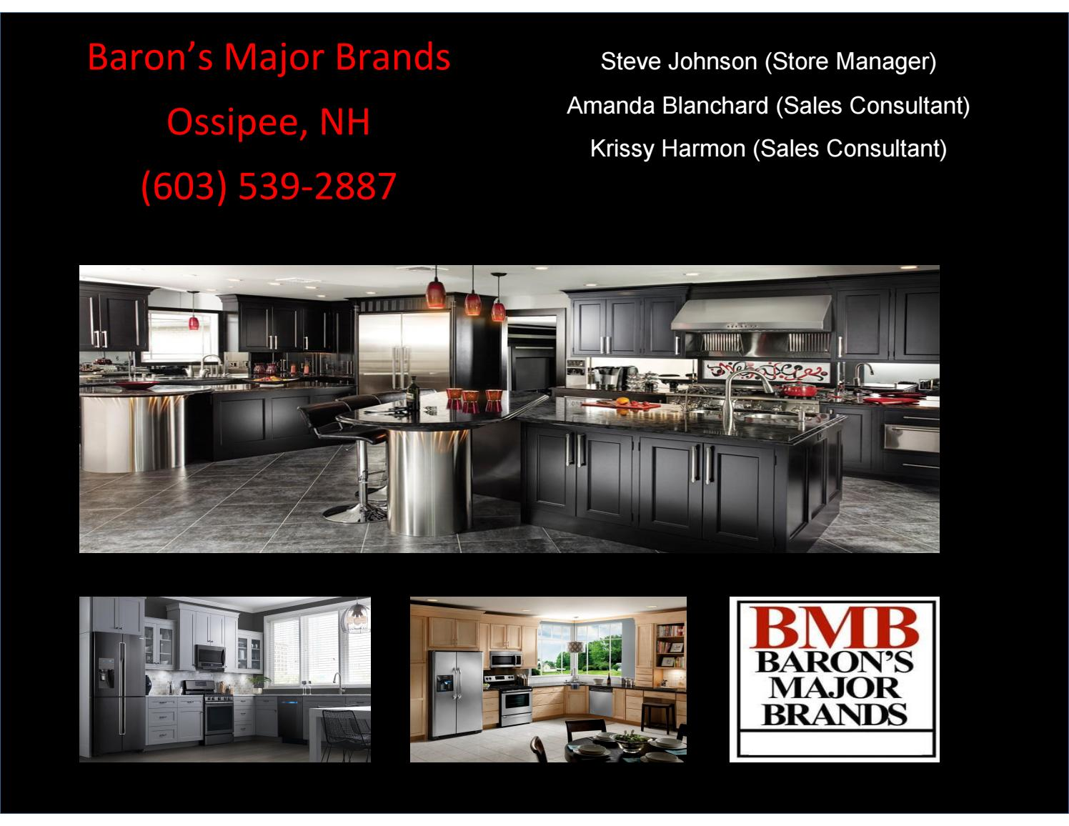 Baron S Appliance Design Guide By Baronsmajorbrandsossipee