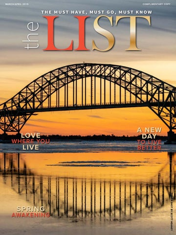 The List Magazine March/April 2019 by The List Magazine - issuu